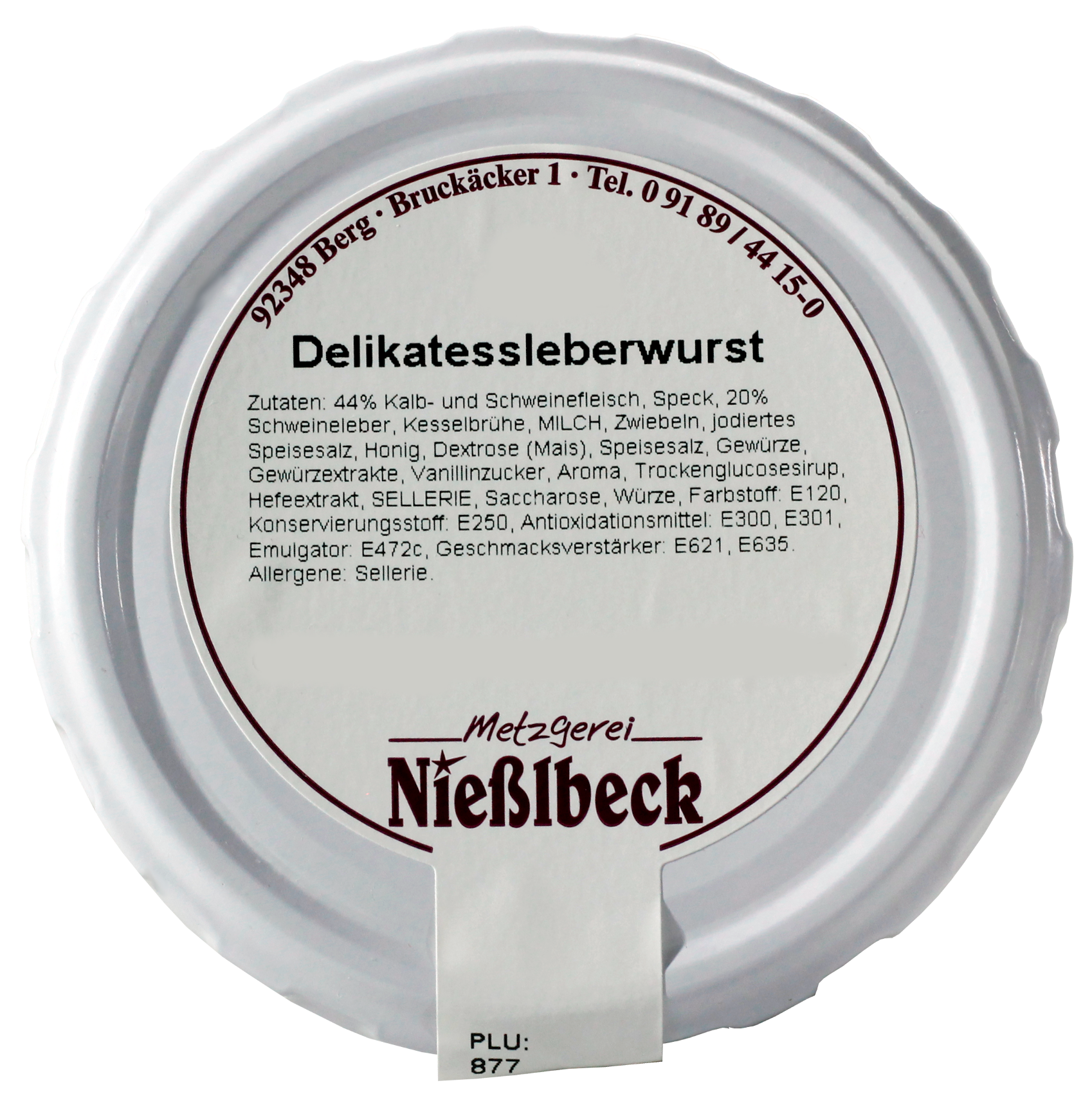 Delikatessleberwurst (Glas 180g)