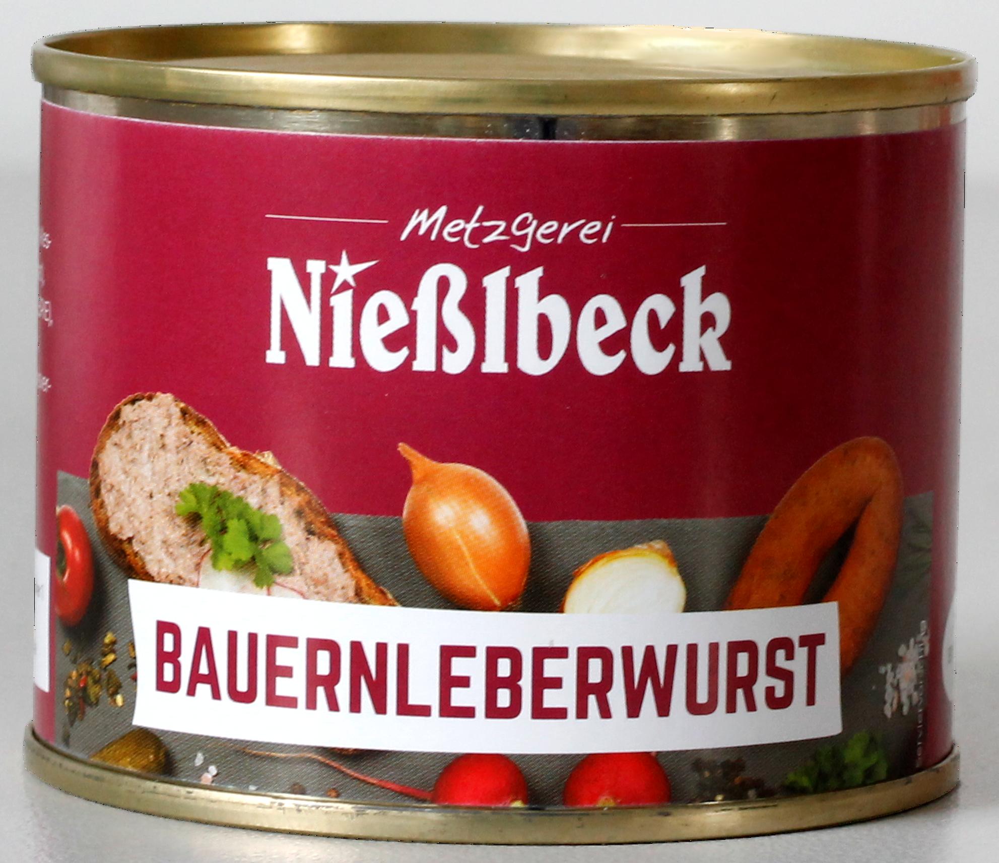 Bauernleberwurst (Dose 180g)