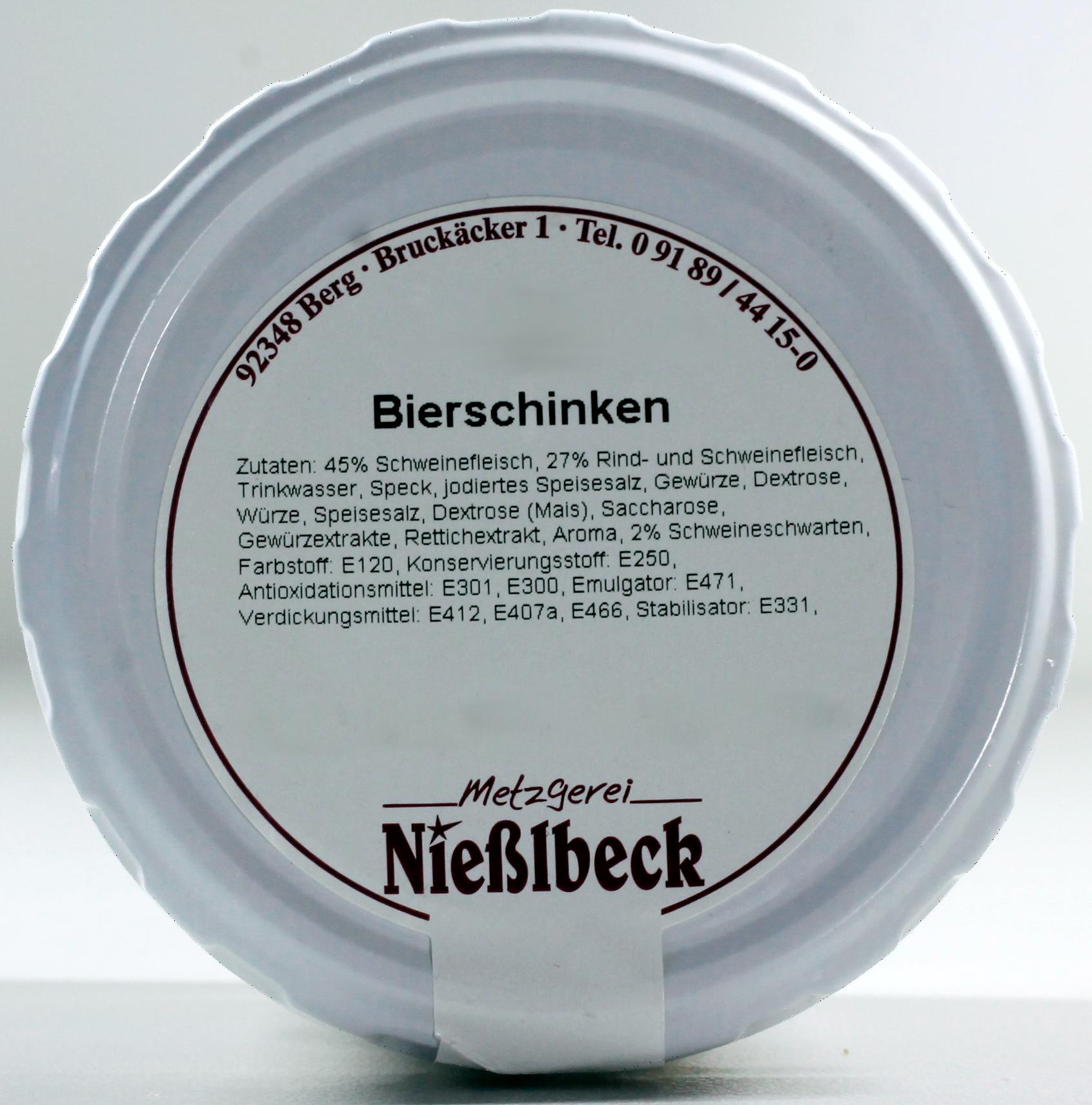 Bierschinken (Glas 180g)
