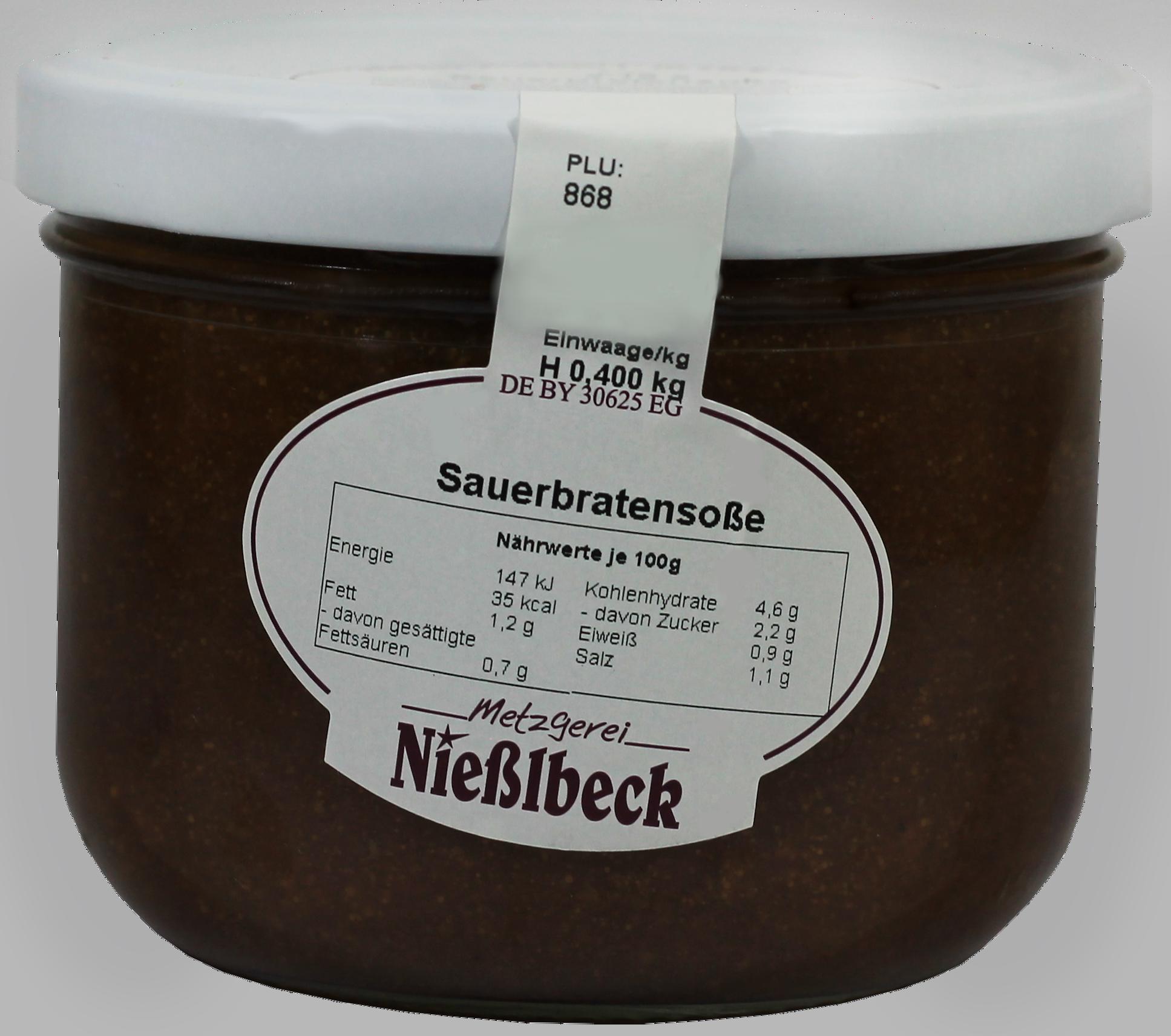 Sauerbratensoße (Glas 400g)