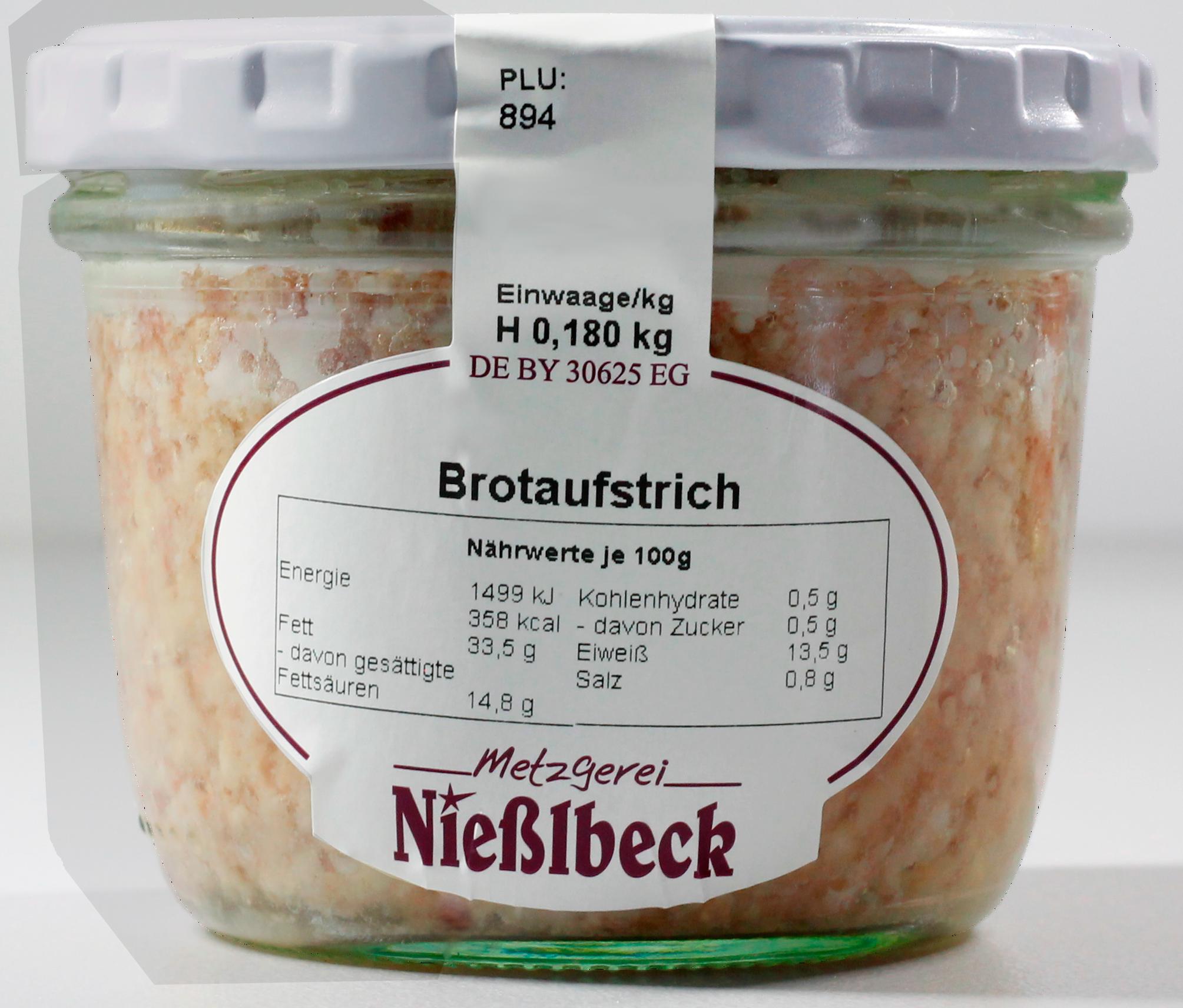 Brotaufstrich (Glas 180g)