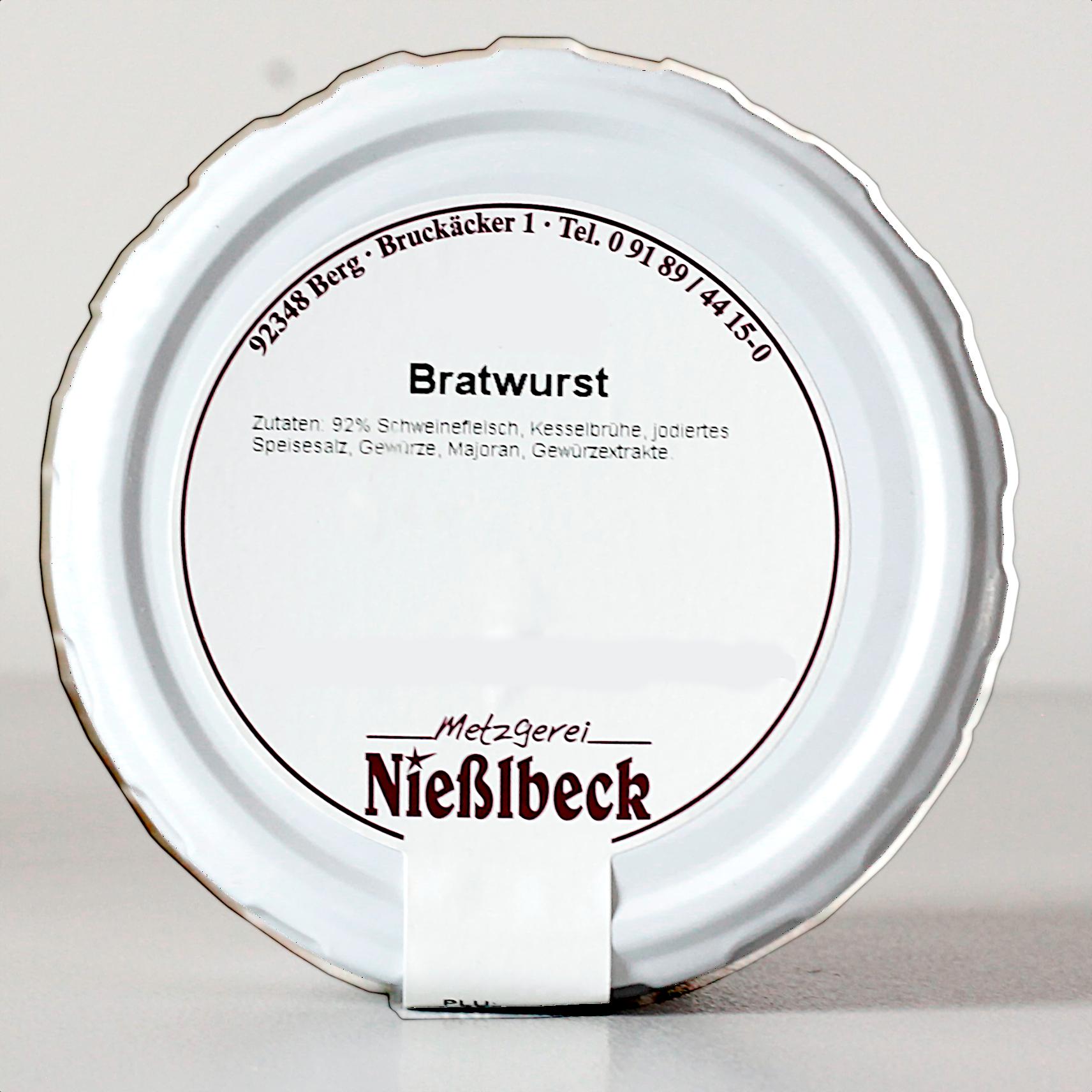 Bratwurst (Glas 180g)