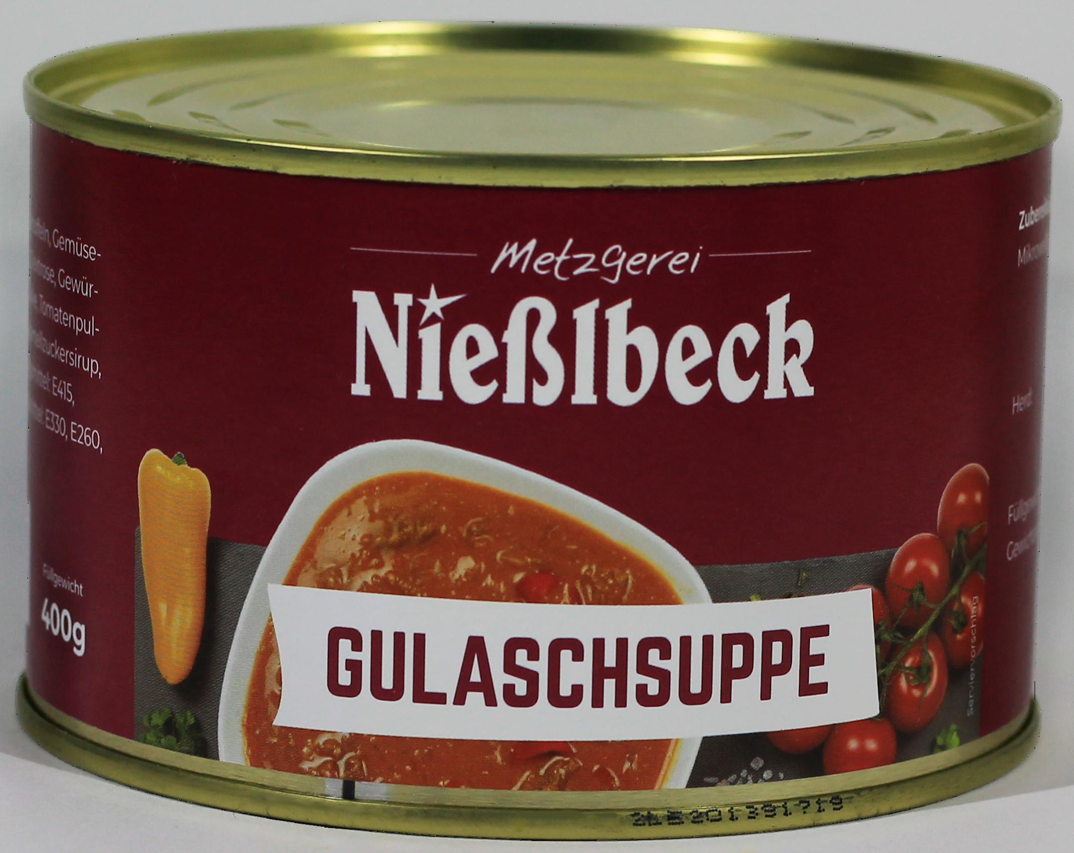Gulaschsuppe (Dose 370g)