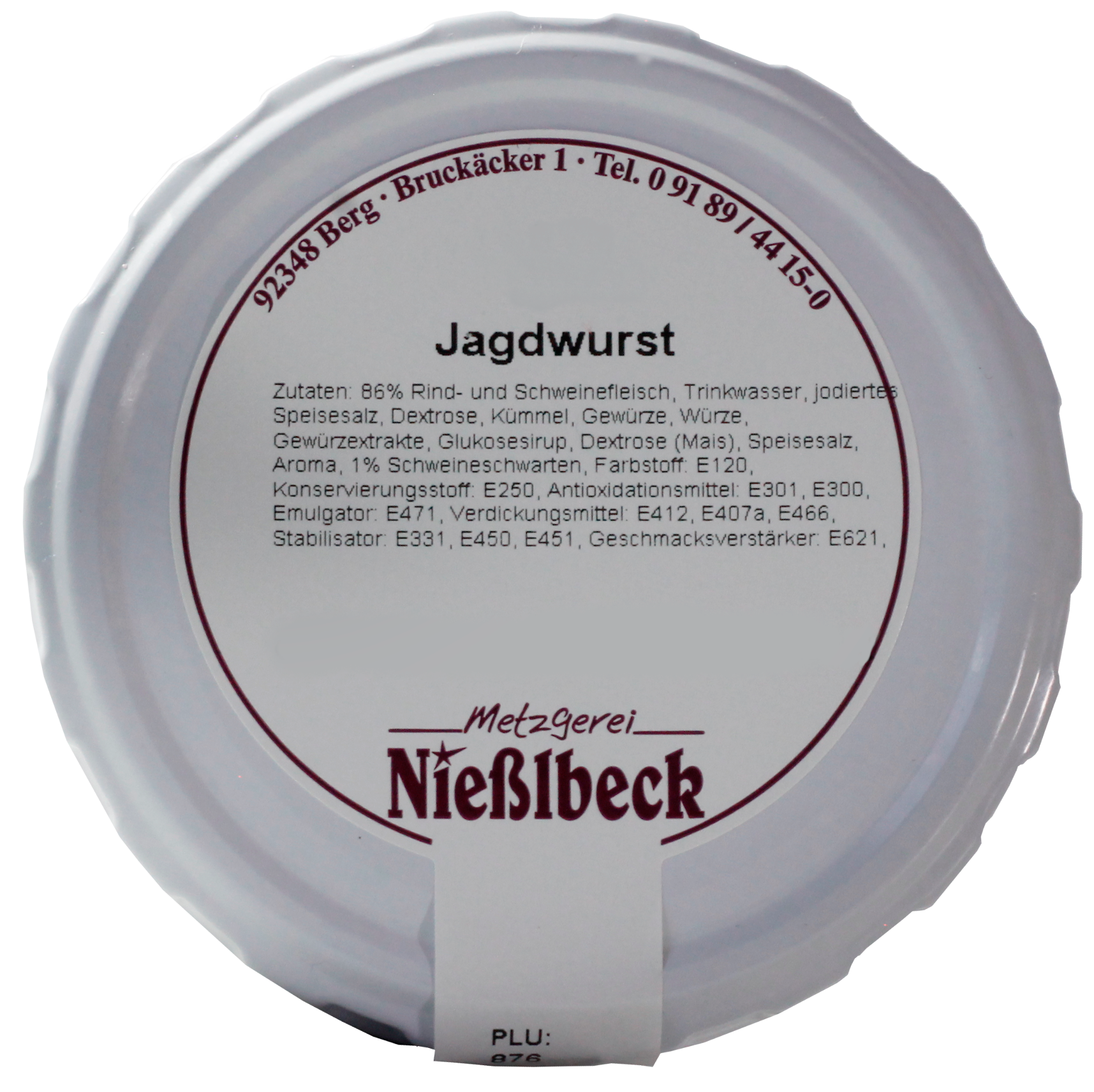 Jagdwurst (Glas 180g)